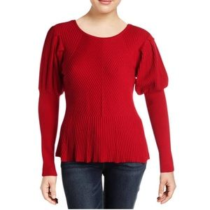 Winter SALE! CECE Textured Long Sleeves Sweater